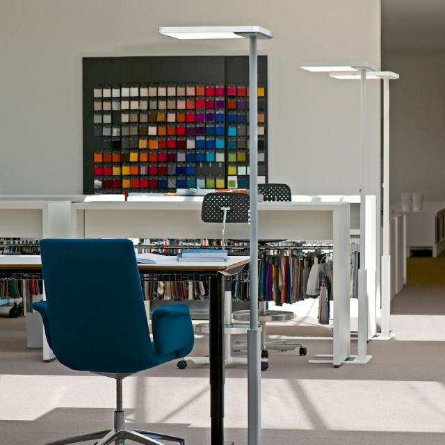 LUXO by GLAMOX LINEA LED Stehleuchte mit Dimmer und Bewegungsmelder