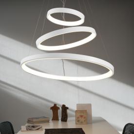 Martinelli Luce Lunaop LED Pendelleuchte mit Dimmer, 3-flammig