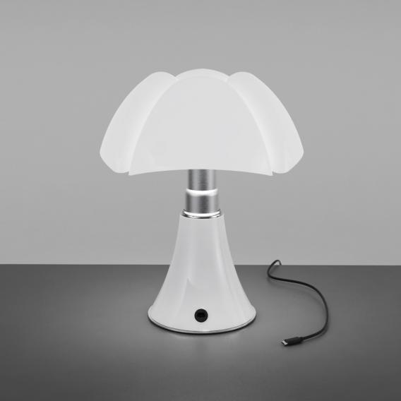 Martinelli Luce Minipipistrello Cordless USB LED Tischleuchte mit Dimmer