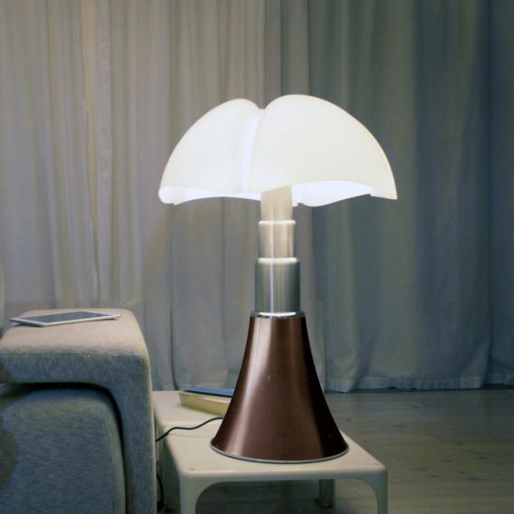 martinelli luce Pipistrello LED Tischleuchte mit CCT und Dimmer