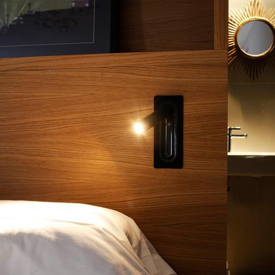 marset Ledtube LED Einbau-Spot/Wandleuchte, klein