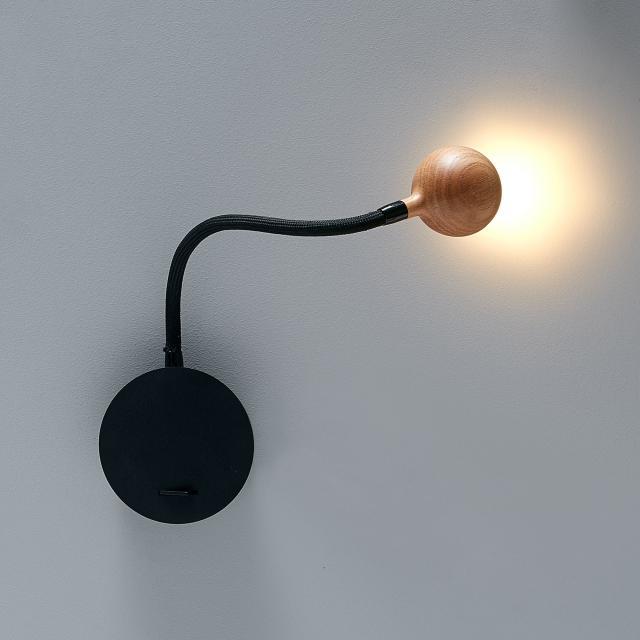 marset N°8 LED Wandleuchte mit Ein-/Ausschalter
