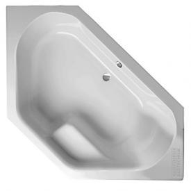 Mauersberger fascia Eck Badewanne weiß