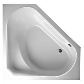Mauersberger sedum Eck Badewanne weiß