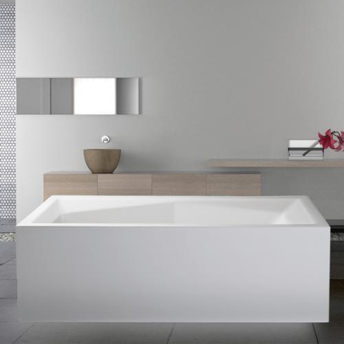 mauersberger duoformis freistehende rechteck badewanne 6018080101 reuter. Black Bedroom Furniture Sets. Home Design Ideas