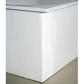 Mauersberger BW aspera 170 x 100 Badewannenträger mit Ablage, links