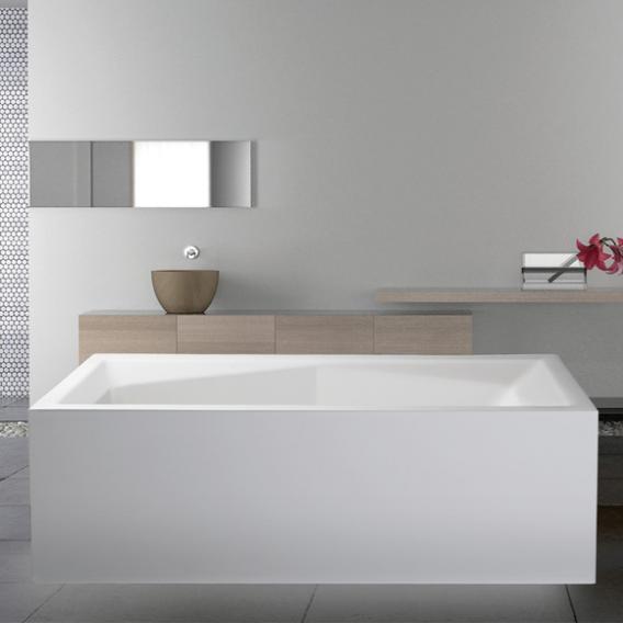 Mauersberger rila Freistehende Rechteck-Badewanne