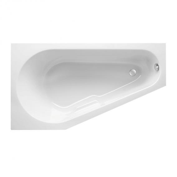 Mauersberger stricta Raumspar-Badewanne weiß