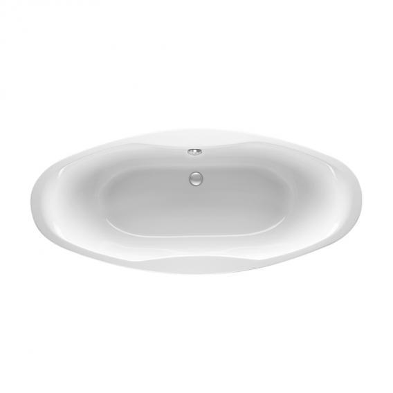 Mauersberger ubesa Oval Badewanne weiß