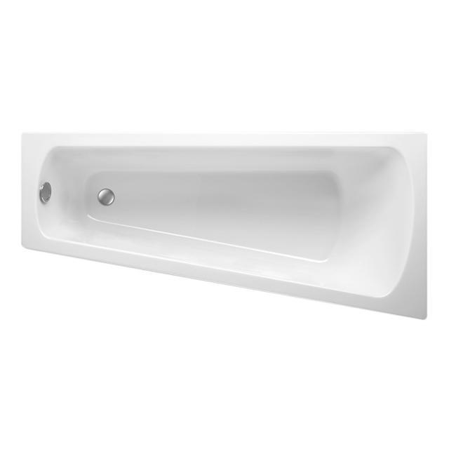 Mauersberger ascea Raumspar-Badewanne, Einbau weiß