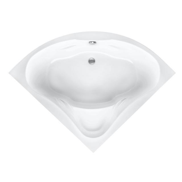 Mauersberger berlandi Eck-Badewanne, Einbau weiß