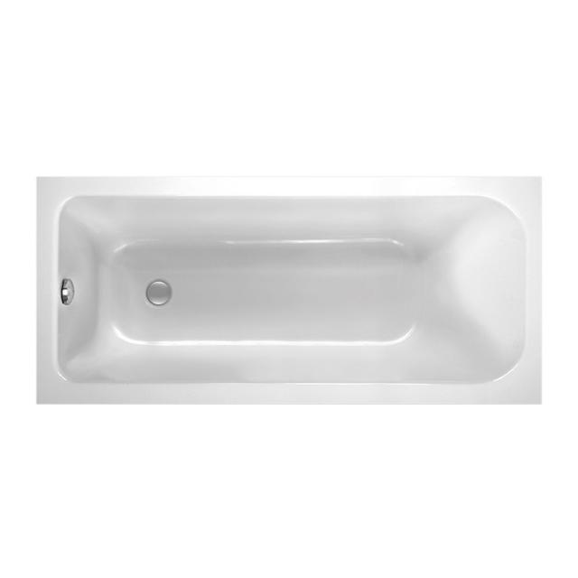 Mauersberger caudex Rechteck-Badewanne weiß