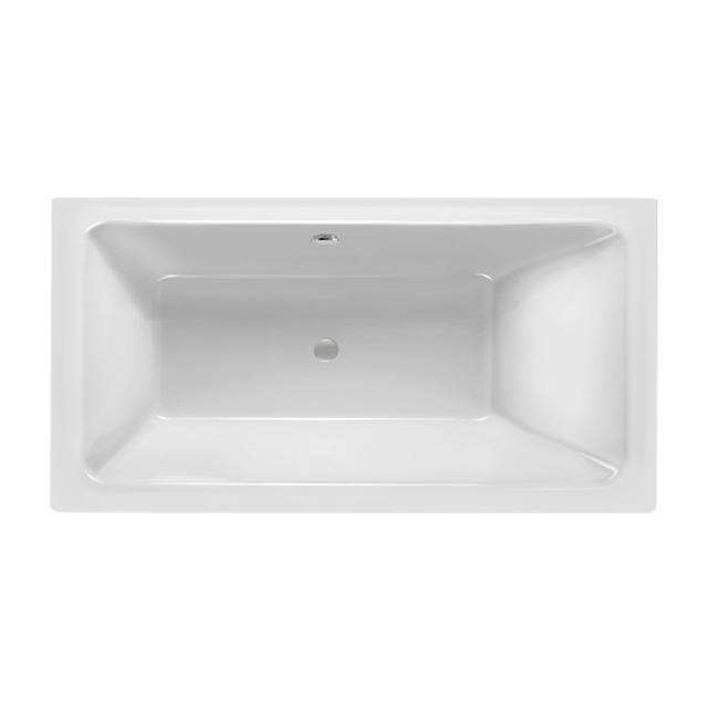 Mauersberger convexa Rechteck-Badewanne weiß