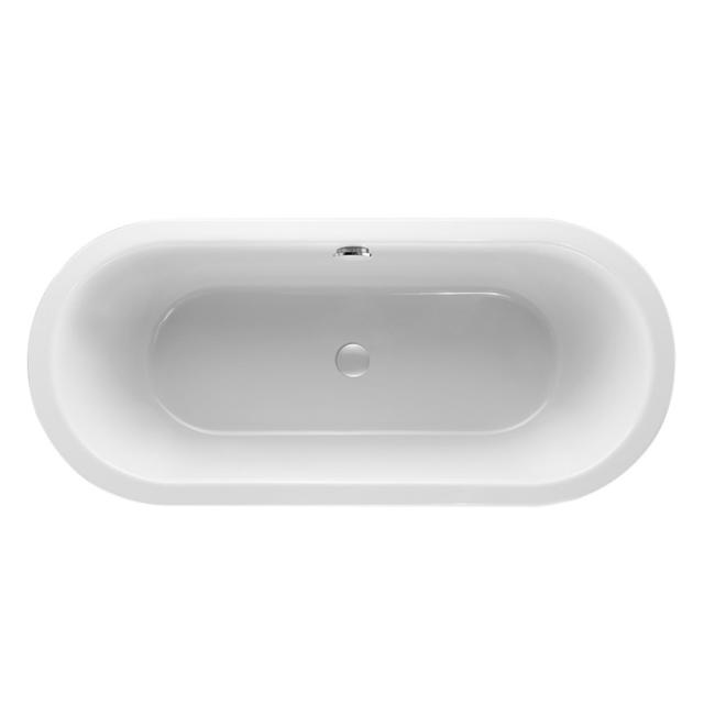 Mauersberger crispa duo Oval-Badewanne, Einbau weiß