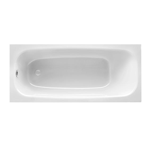 Mauersberger elisal Rechteck-Badewanne, Einbau weiß