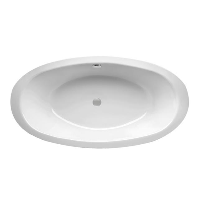 Mauersberger fusaca Oval-Badewanne, Einbau weiß