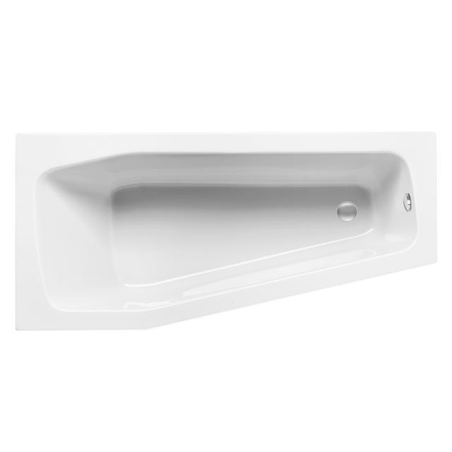 Mauersberger globosa Raumspar-Badewanne weiß