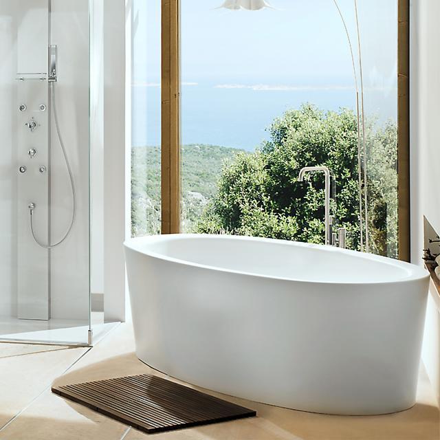 Mauersberger fusaca Freistehende Oval-Badewanne