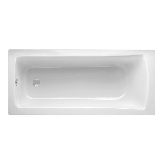 Mauersberger jucunda Rechteck-Badewanne, Einbau weiß