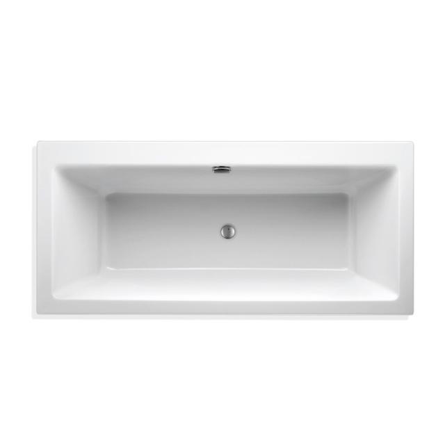 Mauersberger perfo Rechteck-Badewanne, Einbau weiß