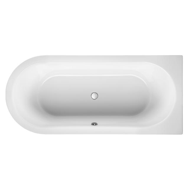 Mauersberger primo 3 Sonderform-Badewanne, Einbau weiß