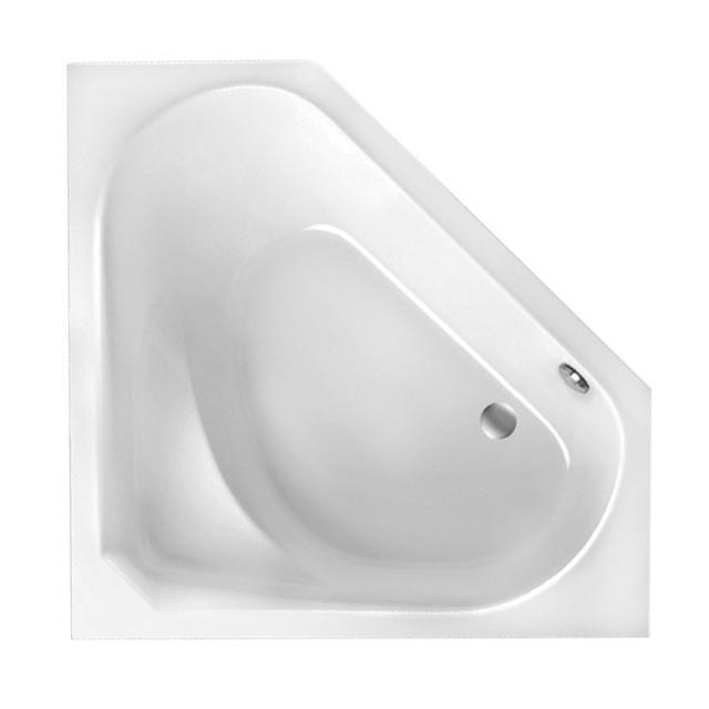 Mauersberger sedum Eck-Badewanne, Einbau weiß