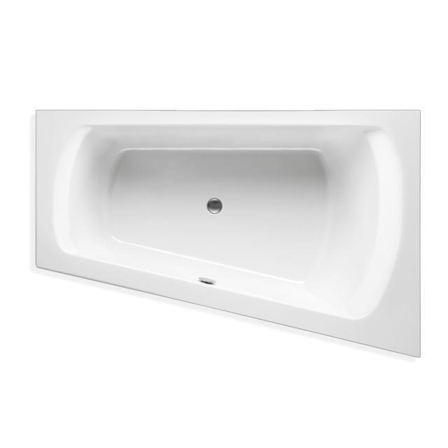 Mauersberger senecio Eck-Badewanne, Einbau weiß