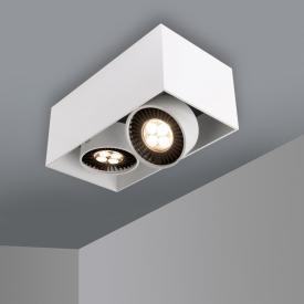 mawa LED Aufbaustrahler eckig 2-flammig