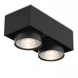 mawa wittenberg 4.0 LED Aufbaustrahler, eckig, 2-flammig, halbbündig