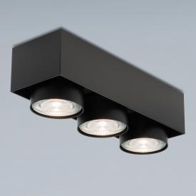 mawa wittenberg 4.0 LED Aufbaustrahler, eckig, 3-flammig, halbbündig