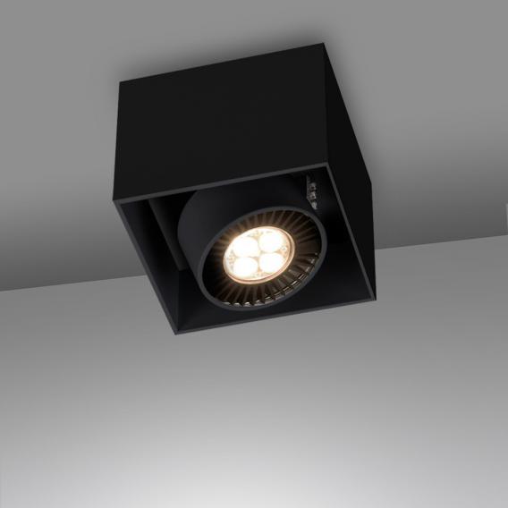 mawa LED Aufbaustrahler eckig 1-flammig