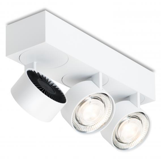 mawa wittenberg 4.0 LED Aufbaustrahler, eckig, 3-flammig