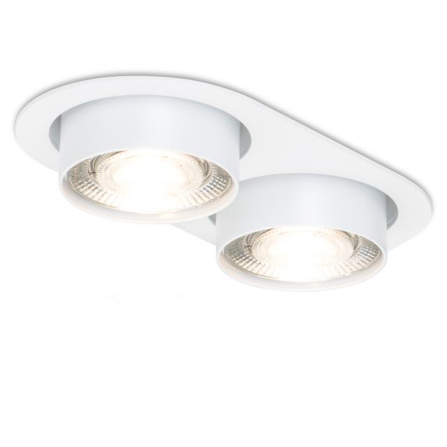 mawa wittenberg 4.0 LED Einbaustrahler, oval, halbbündig, 2-flammig