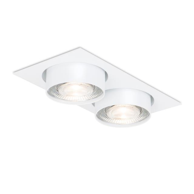 mawa wittenberg 4.0 LED Einbaustrahler, eckig, halbbündig, 2-flammig