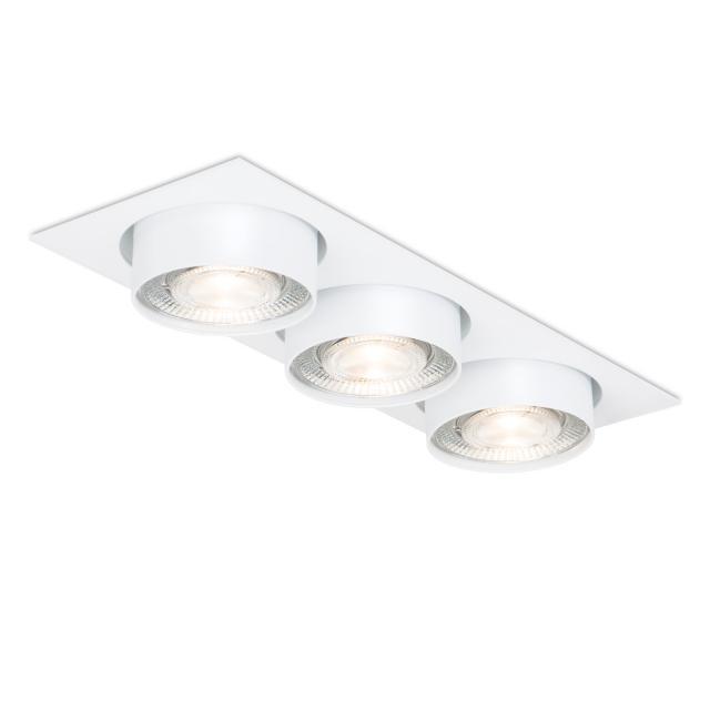 mawa wittenberg 4.0 LED Einbaustrahler, eckig, halbbündig, 3-flammig