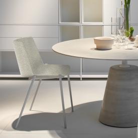 MDF Italia AÏKU SOFT Stuhl mit keilförmigen Beinen