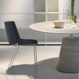 MDF Italia AÏKU SOFT Stuhl mit runden Beinen