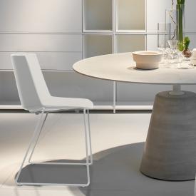 MDF Italia AÏKU Stuhl mit Kufen
