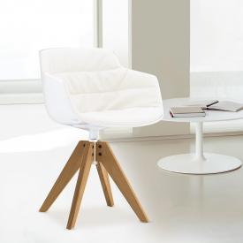 MDF Italia FLOW SLIM Sessel mit Füßen