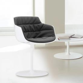 MDF Italia FLOW SLIM Sessel mit Mittelfuß