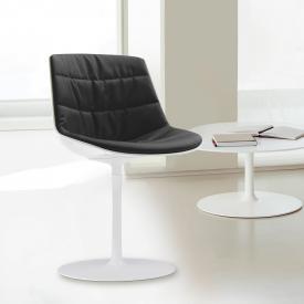 MDF Italia FLOW Stuhl mit Mittelfuß, drehbar