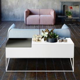 MDF Italia INMOTION Sideboard mit Kabeldurchlass, Ablage links