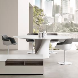 MDF Italia S TABLE Esstisch, oval