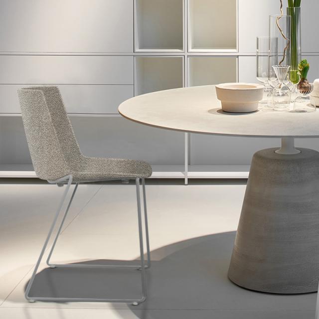 MDF Italia AÏKU SOFT Stuhl mit Kufen