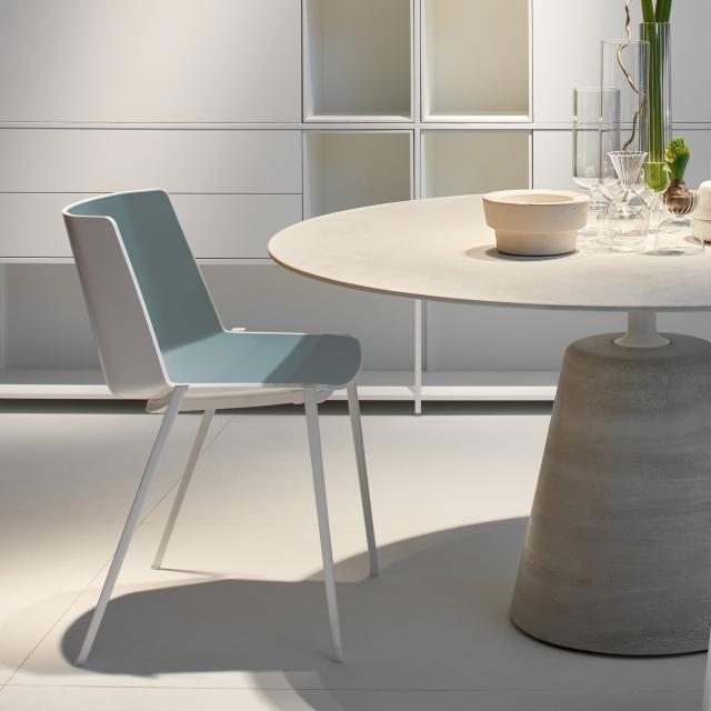 MDF Italia AÏKU Stuhl mit keilförmigen Beinen