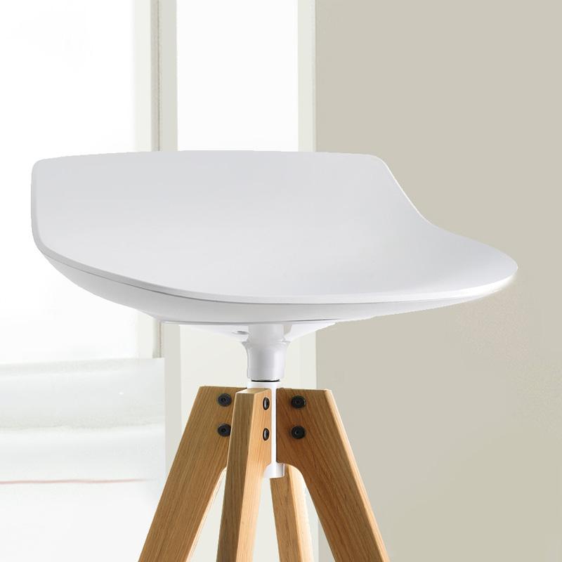mdf italia flow stool barhocker f056104f006s042s007h065 reuter. Black Bedroom Furniture Sets. Home Design Ideas