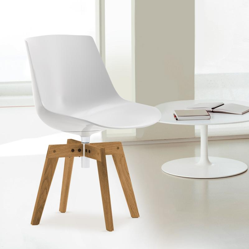 mdf italia flow stuhl mit f en f052119f006s042s007 reuter. Black Bedroom Furniture Sets. Home Design Ideas