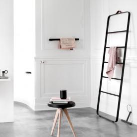 Menu Comfort Handtuchleiter schwarz/eiche