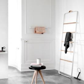 Menu Comfort Handtuchleiter weiß/eiche