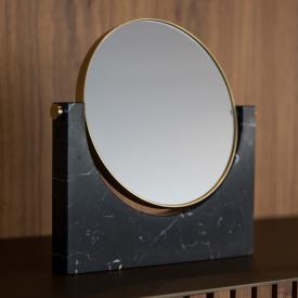 Menu Pepe Stand-Kosmetikspiegel schwarz